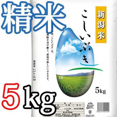 新潟県産こしいぶき 精米5kg