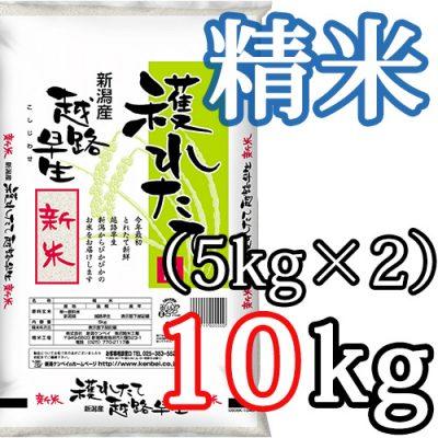 新潟県産越路早生 精米10kg
