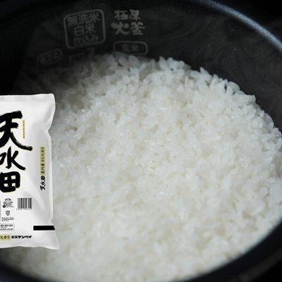 令和元年度米 新潟産コシヒカリ「天水田」(旧黒川村)