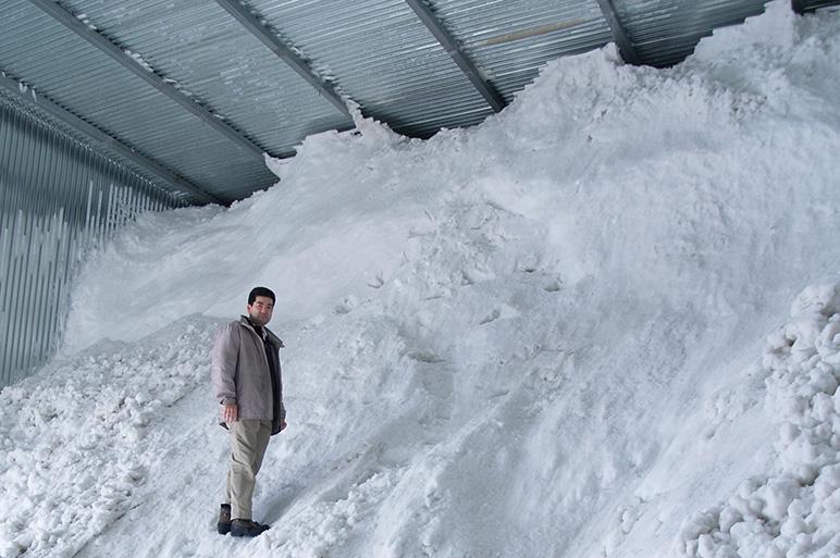 雪室貯蔵で新米の美味しさを一年間楽しめます!