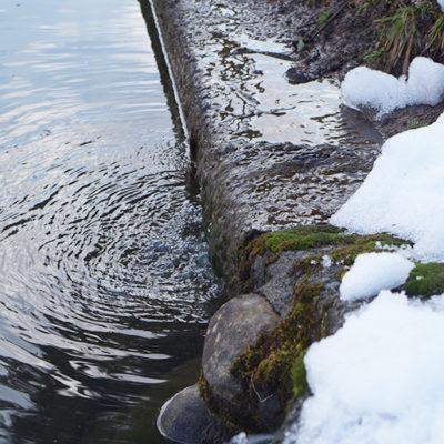 豪雪地帯として知られる小千谷市岩沢