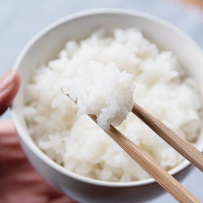 もっちりとした食感が特徴の「縁結び」