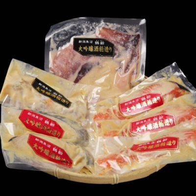 「鶴齢」大吟醸粕漬け 4種特撰セット