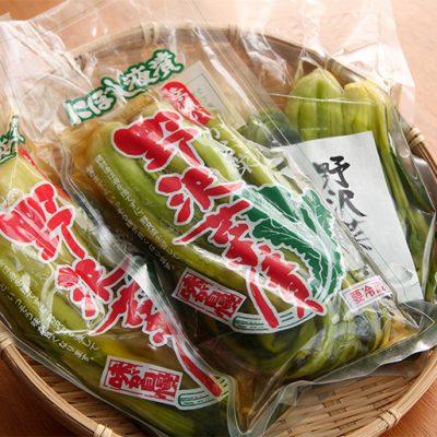 幸源の野沢菜漬