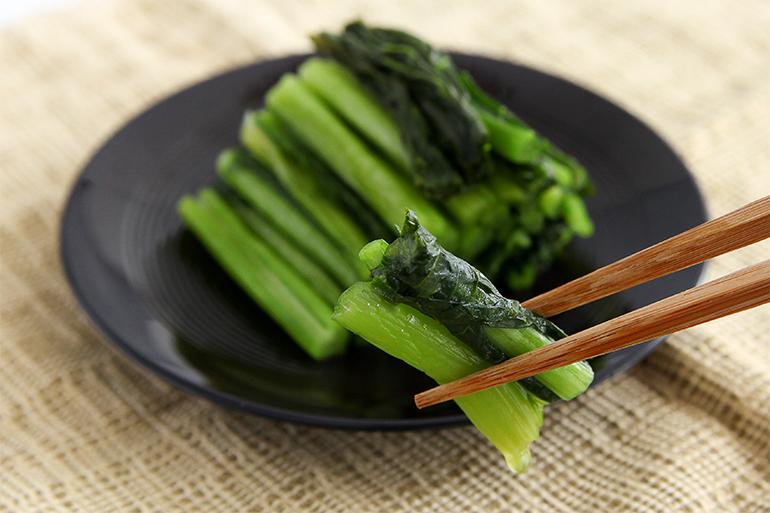 雪国魚沼のふるさとの味「野沢菜漬」
