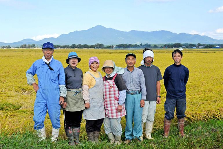 広大な田んぼでの安心安全なお米作り