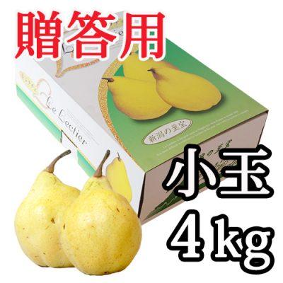 【贈答用】ル・レクチェ 小玉 4kg(11~14玉)