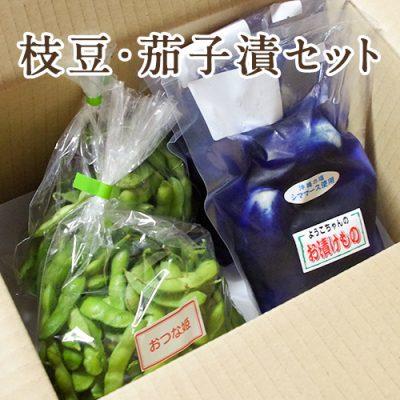 枝豆・茄子の浅漬けセット