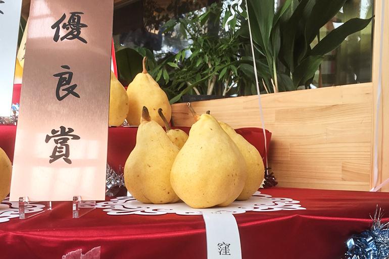 ル・レクチェ品評会にて優良賞を受賞!
