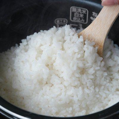 濃厚な旨味の大粒米