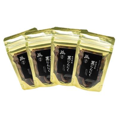 熟成発酵 黒にんにく 4パック入り