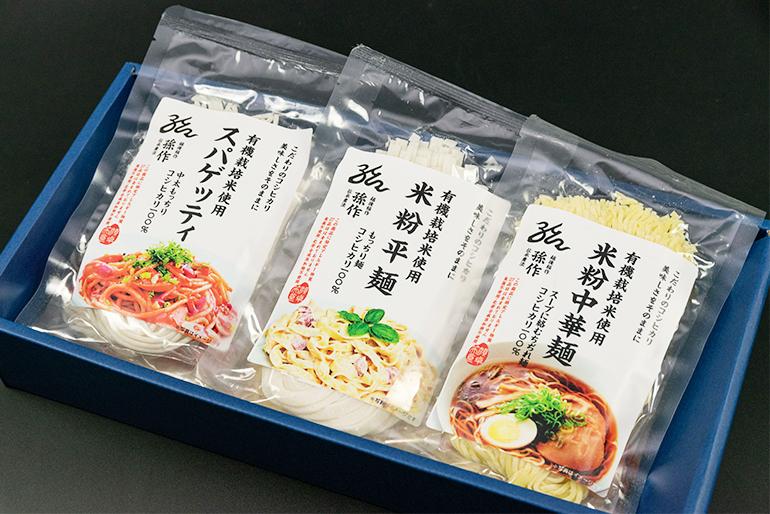 全6種類の米粉麺から選べるギフトセットもご用意!