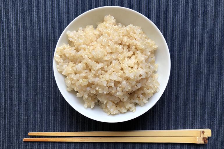 有機栽培米は玄米でも安心して食べられます