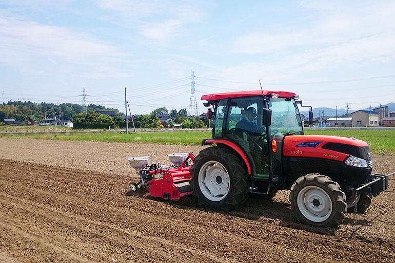 食の安全に配慮した大豆の産地「刈羽村」