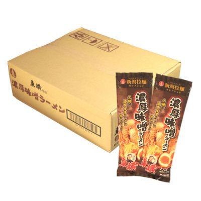 東横監修 濃厚味噌ラーメン 270g×12袋(24食入)