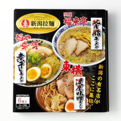 新潟拉麺セレクション 3種各1袋(6食入)