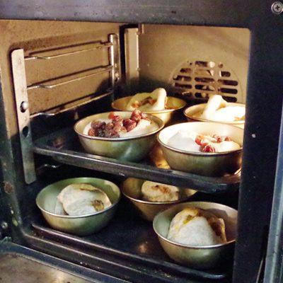 長時間発酵することにより柔らかな食感が生まれます