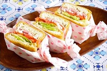 4.油揚げサンドイッチ