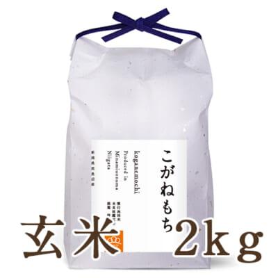 南魚沼産こがねもち 玄米2kg