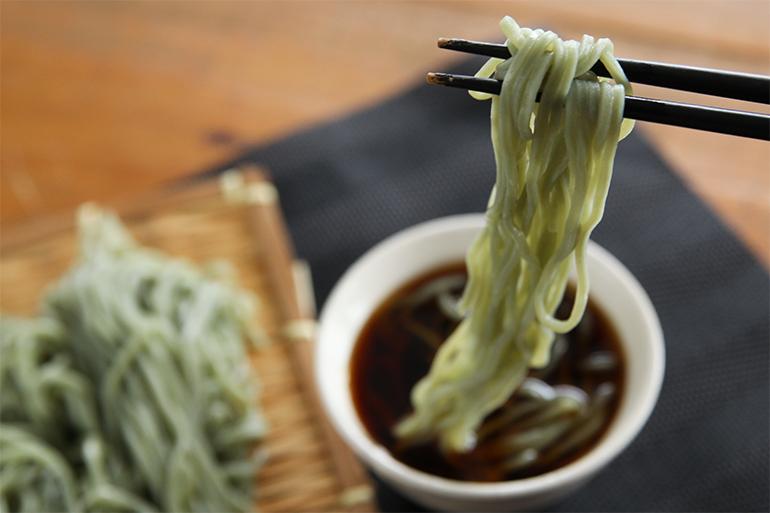 2.喉越しの良い細麺