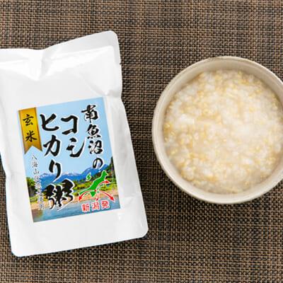 玄米ならではのプチプチとした食感