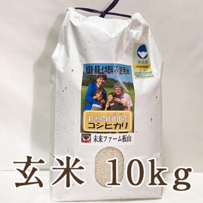 新潟産 従来品種コシヒカリ(特別栽培)玄米10kg