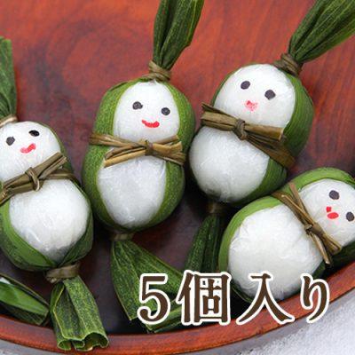 笹雪だるま(つぶあん)5個入り