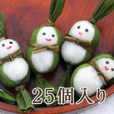 笹雪だるま(つぶあん)25個入り
