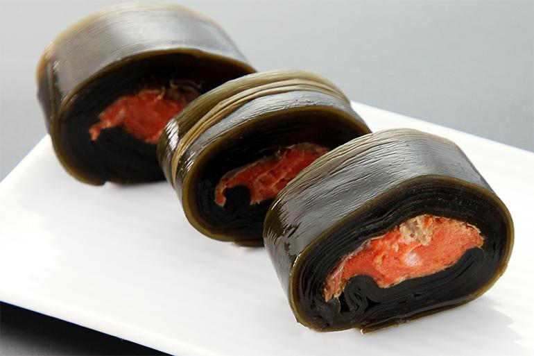 新潟の食文化!鮭入り昆布巻き