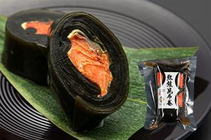 3.紅鮭昆布巻(太巻)