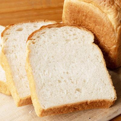 新潟県産小麦とコシヒカリ米粉の山型食パン