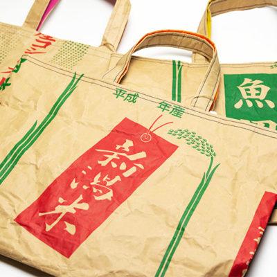 エコで可愛い米袋バッグ