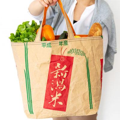 野菜を入れて贈り物に使うのもオシャレ