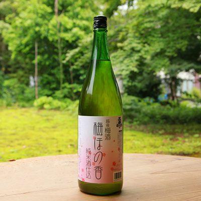 スキー正宗 梅ほの香 純米梅酒 1.8l(1升)