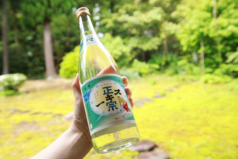 昭和のラベルを復刻!武蔵野酒造の定番銘柄「スキー正宗」
