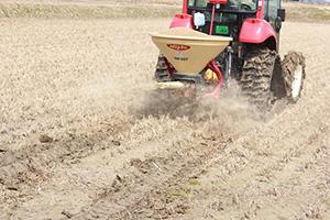 1.美味しいお米は土づくりから。有機肥料メインの栽培!