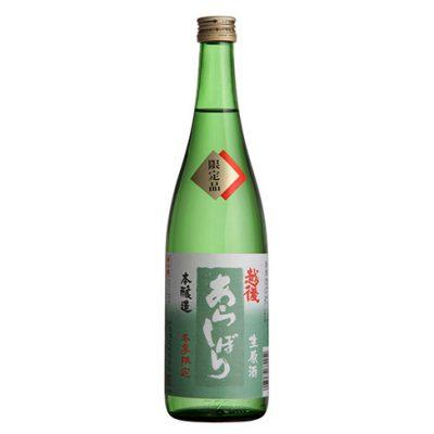本醸造 越後あらしぼり 生原酒 720ml(4合)