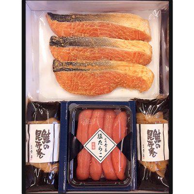 生サーモン味噌漬け まごころAセット(化粧箱入り)