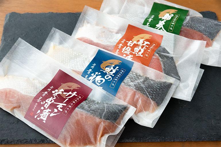 うま味がギュッと詰まった鮭の切り身4種