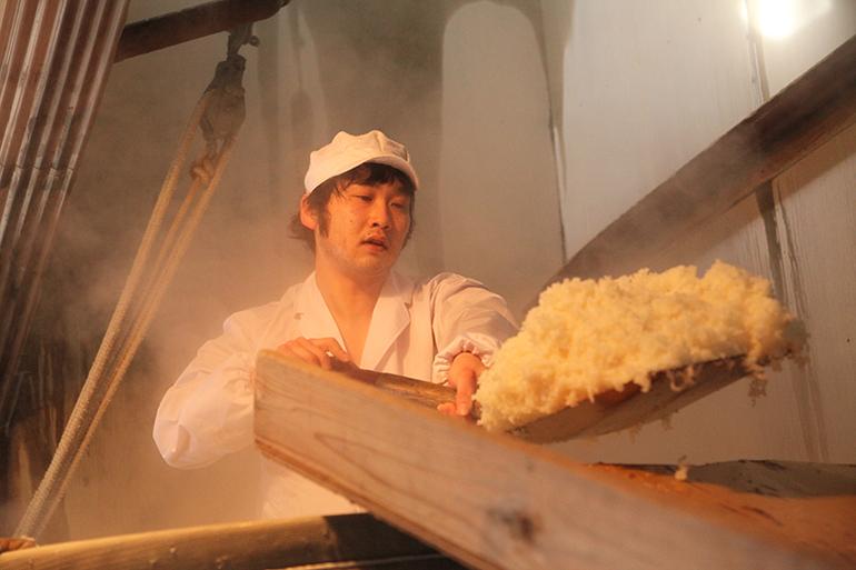 杜氏が栽培した酒米「越淡麗」を贅沢に使った1本