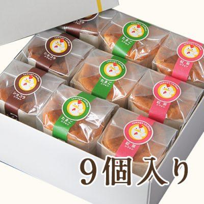 シフォンケーキセット9個入り