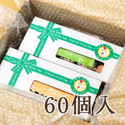 朝採り新鮮たまごセット60個入り
