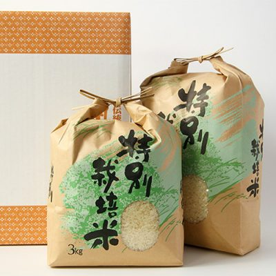 30年度米 新発田市菅谷産コシヒカリ(特別栽培米)