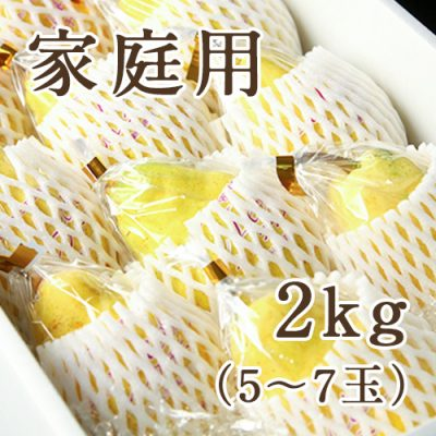 【家庭用】ル・レクチェ 2kg(化粧箱入)5~7玉