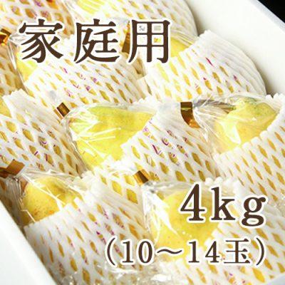 【家庭用】ル・レクチェ 4kg(化粧箱入)10~14玉
