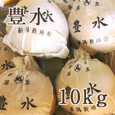 豊水 10kg(16〜24玉)