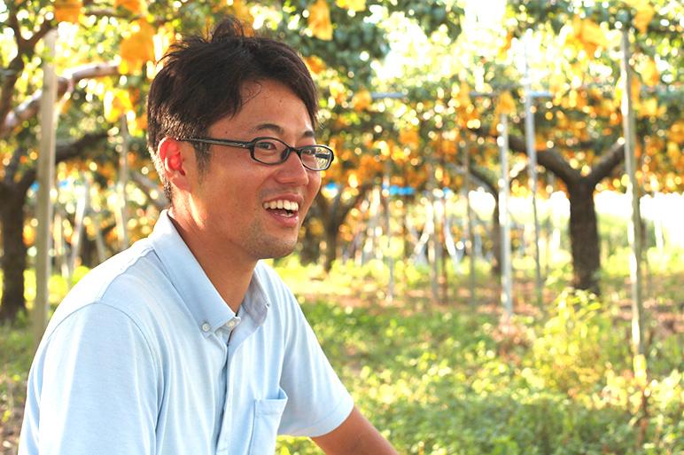 江戸時代から梨の産地。新潟県亀田