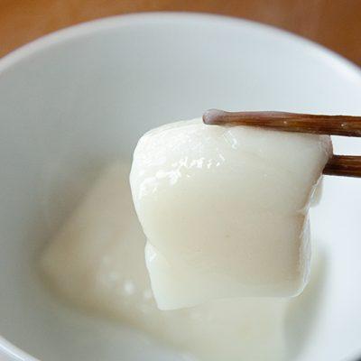 真っ白で甘み際立つ味わい