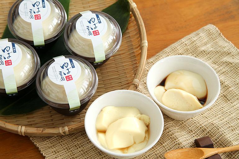 日本料理魚長名物「ゆば豆腐」