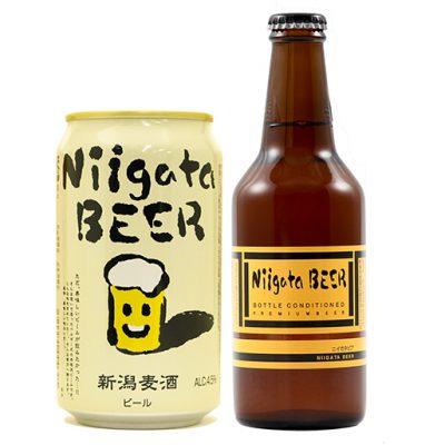 国内初の缶内醸造ビール「新潟麦酒」!